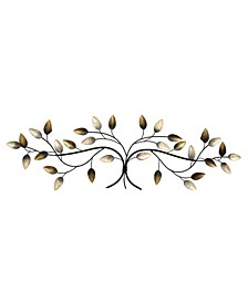 Stratton Home Decor Over the Door Blowing Leaves Wall Decor