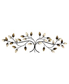 Stratton Home Decor Stratton Home Decor Floral Scroll Wall Decor Reviews Wall Art Macy S