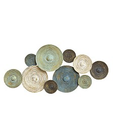 Stratton Home Decor Asheville Textured Plates Wall Decor