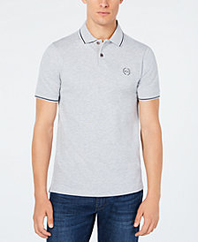 A|X Armani Exchange Men's Pique Collar Polo