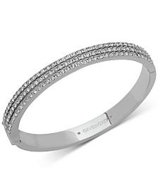 Givenchy Swarovski Crystal Bangle Bracelet