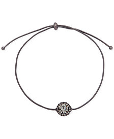 Givenchy Crystal Halo Bolo Bracelet