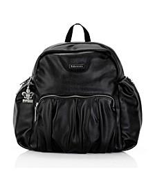 Chicago Vegan Leather Backpack Diaper Bag