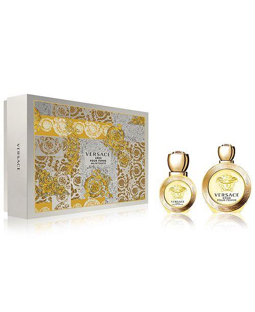 Versace 2-Pc. Eros Pour Femme Gift Set, A  158 Value - All Perfume ... 6204e521407