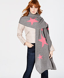 Charter Club Patterned Oversized Scarf, Created for Macy's