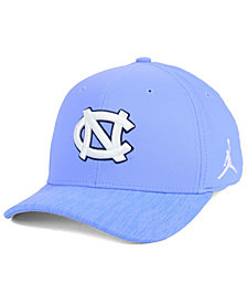 Nike North Carolina Tar Heels Arobill Swoosh Flex Stretch Fitted Cap