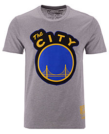 Mitchell & Ness Men's San Francisco Warriors Zigzag T-Shirt