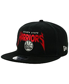 New Era Golden State Warriors 90s Throwback Groupie 9FIFTY Snapback Cap