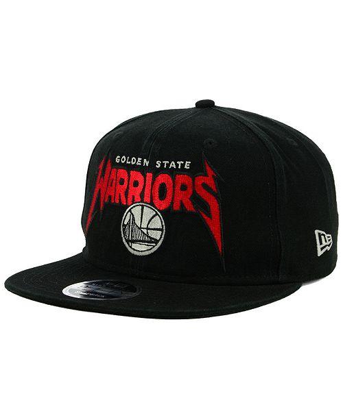 New Era Golden State Warriors 90s Throwback Groupie 9FIFTY Snapback Cap