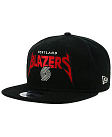New Era Portland Trail Blazers 90s Throwback Groupie 9FIFTY Snapback Cap