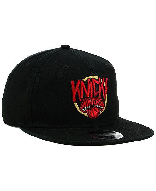 save off 289c3 07c4a ... New Era New York Knicks 90s Throwback Tour 9FIFTY Snapback Cap ...