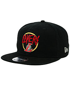 New Era Los Angeles Lakers 90s Throwback Tour 9FIFTY Snapback Cap