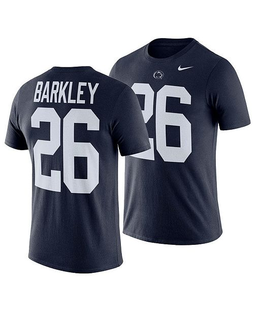 4498d320 Men's Saquon Barkley Penn State Nittany Lions Future Star Replica T-Shirt