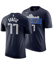 Nike Men's Luka Doncic Dallas Mavericks Statement Player T-Shirt