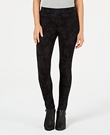 Style & Co Printed Leggings with Comfort Waist, Created for Macy's