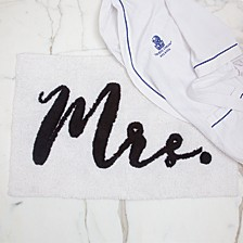 Mr And Mrs Bathmat