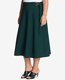 Calvin Klein Plus Size A-Line Skirt