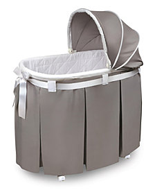 Wishes Oval Bassinet - Full Length Skirt