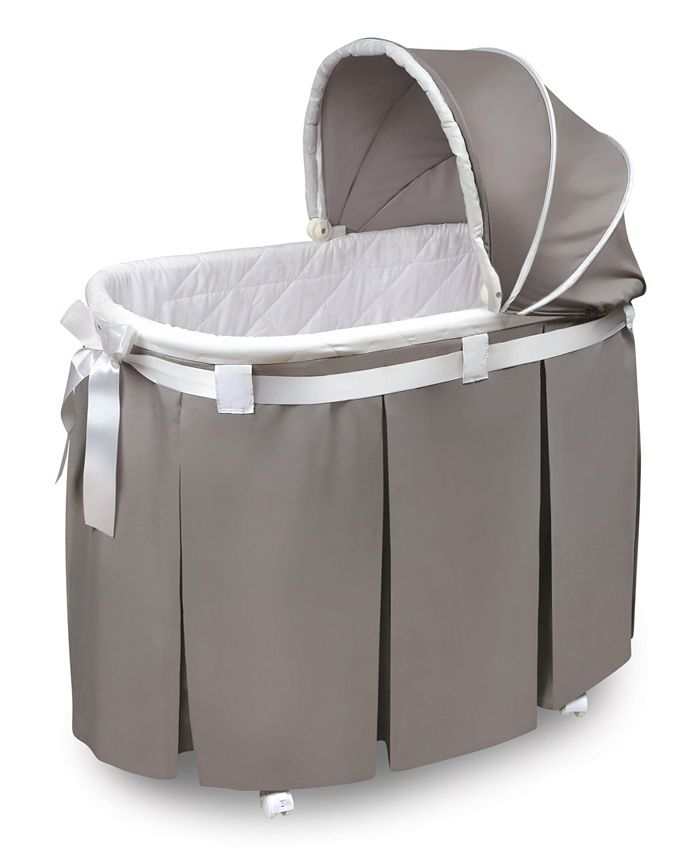 Badger Basket - WISHES BASSINET GRAY