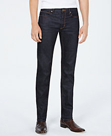 HUGO Men's Slim-Fit Dark Blue Jeans