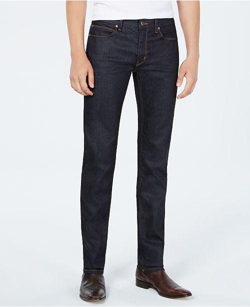 6206ae5e Hugo Boss HUGO Men's Slim-Fit Dark Blue Jeans & Reviews - Jeans ...