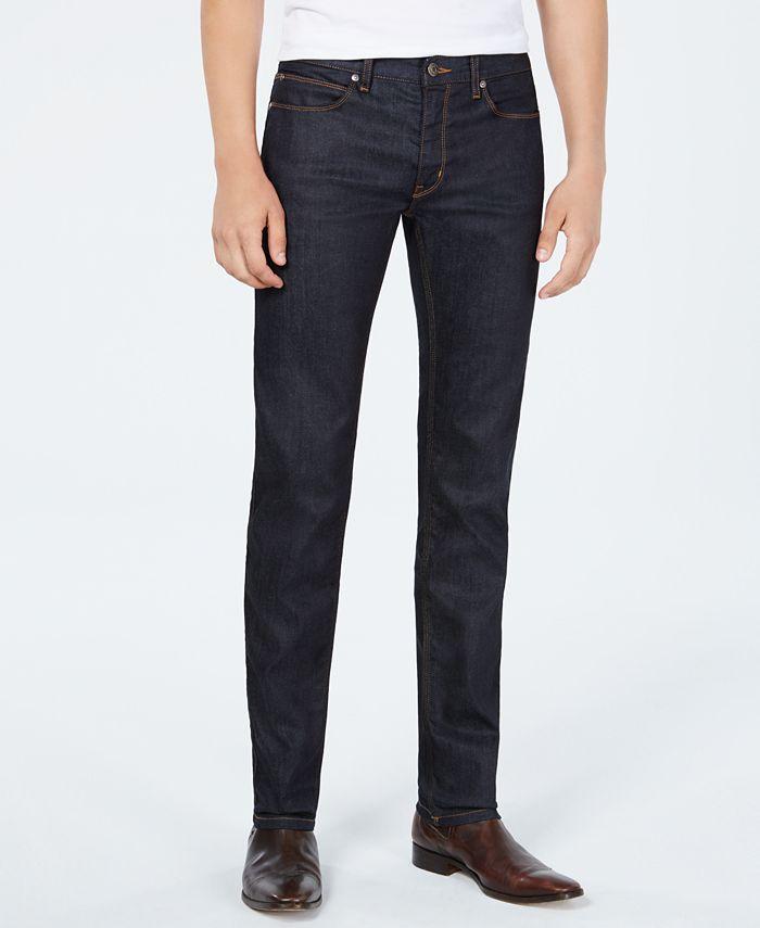 HUGO - Men's Slim-Fit Dark Blue Jeans