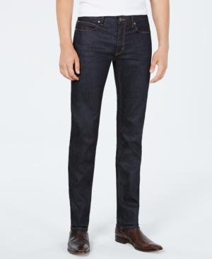 Hugo Men's Slim-Fit Dark Blue Jeans