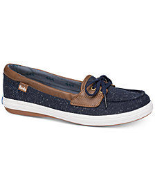 Keds Women's Glimmer Speckle Slip-On Sneakers