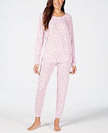 Jenni Printed Soft Pajama Set, Created for Macy's