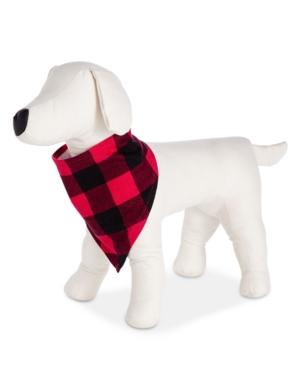 Matching Family Pajamas Buffalo Check Pet Bandana, Created for Macy's