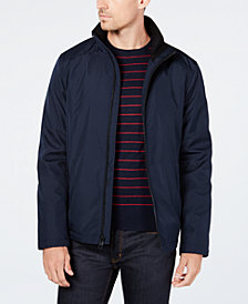 Calvin Klein Men's Full-Zip Stand-Collar Lightweight Jacket