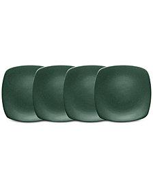 "Noritake Colorwave Set of 4 Mini Quad Plates, 6.5"""