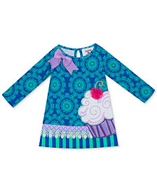 Rare Editions Baby Girls Printed Cupcake Dress