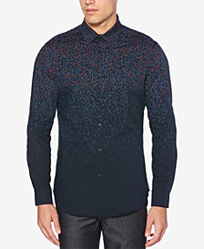 Perry Ellis Men's Slim-Fit Lightning Stretch Shirt