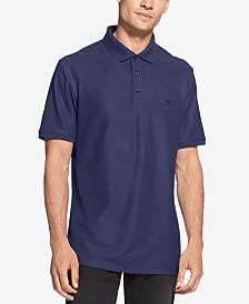 DKNY Men's Solid Polo Shirt