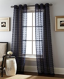"Payton 37"" X 84"" Pair of Grommet Top Curtain Panels"