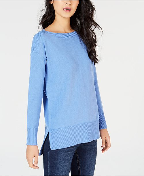 High-Low Hem Sweater, Created for Macy's