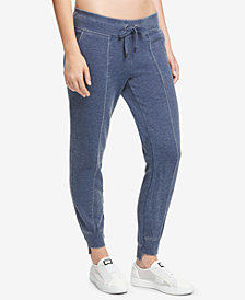 DKNY Sport Seamed Bridge-Hem Pants