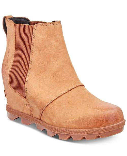 bbc7d407684 ... Sorel Women s Joan of Arctic Wedge II Waterproof Chelsea Booties ...