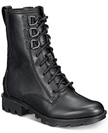 Sorel Women's Phoenix Lace-Up Waterproof Booties