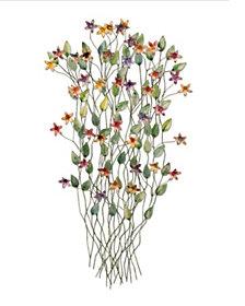 Artisan Wildflowers Wall Art, Quick Ship