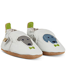 Robeez Baby Boys Dog Buddies Shoes