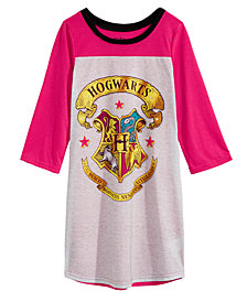 Harry Potter Little & Big Girls Graphic-Print Nightgown