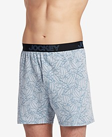 Men's Knit No-Bunch Boxers