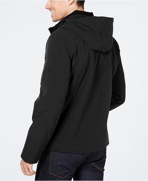 353fff3c082 Calvin Klein Men s Soft Shell Jacket with Fleece Lining   Reviews ...