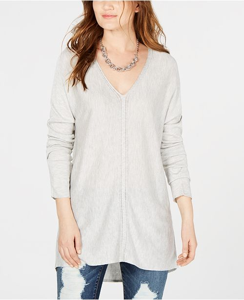 INC International Concepts INC V-Neck Sweater Tunic, Created for Macy's