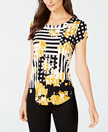 Yellow Tops Shop For And Buy Yellow Tops Online Macy S