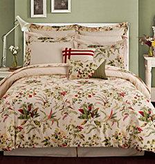 Tribeca Living Maui 12-Pc. Cotton King Comforter Set