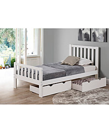 Aurora Twin Bed With Storage Drawers