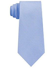 Men's Textured Solid Silk Tie